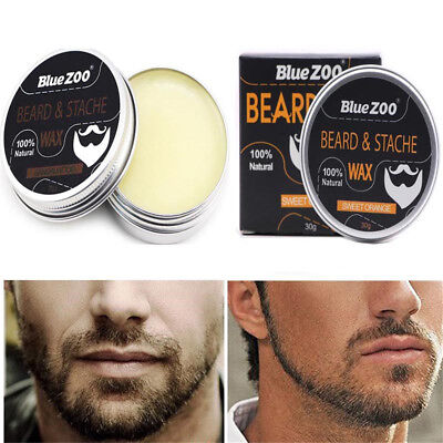 Natural Men Beard Balm Organic Conditioner Beard Care Wax Moisturizing Grooming
