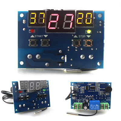 UK XH-W1401 Intelligent Digital Temperature Control Board NTC Sensor 10A 220V