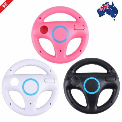 Game Racing Steering Wheel for Nintendo Wii Mario Kart Remote Controller SU