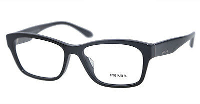 016d662ab4 5 PRADA VPR 24R 1AB-1O1 Eyeglasses Rectangle Black Eyewear Frame W Case52 16