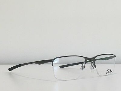 754dc116804 51 Oakley OX3218-0252 Socket 5.5 Eyeglasses Satin Pewter Frame 52-18-138
