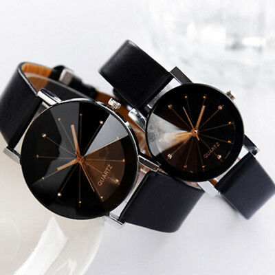 New Mens Women Large Face Stainless Steel Mesh Analog Watch Various Designs Hot