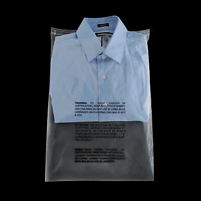 """12"""" x 15.5"""" Self Seal Clear Resealable Poly Bag Water Resistant 1.5 Mil 4000 Pcs"""