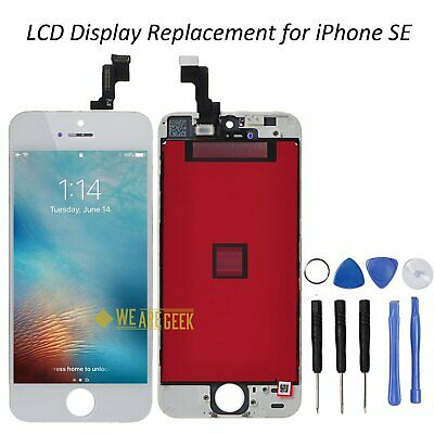LCD Display For Apple iPhone SE 5S White Touch Screen Digitizer OEM Replacement