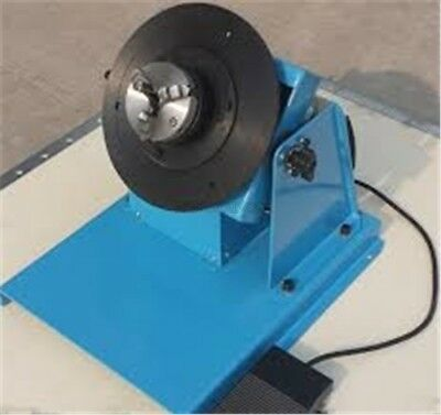 2-20RPM 10Kg Light Duty Welding Turntable Positioner With 80Mm Chuck Ac 110/2 sa