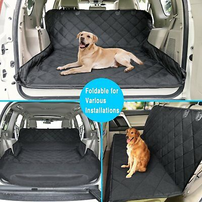 Pet Dog Trunk Cargo Liner - Car SUV Van Seat Cover - Waterproof Floor Mat 3 In 1