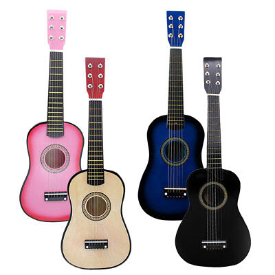 Portable Wooden 23inch Acoustic Guitar Exquisite Musical Instrument