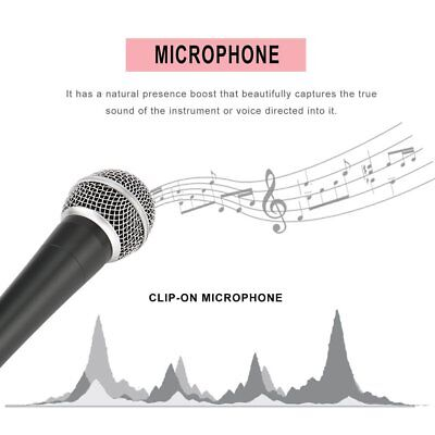 SM-58 Dynamic Microphone Vocal Wired Recording Cardioid Microphones Instrument E