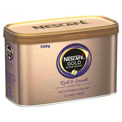 Nescafe Gold Blend Instant Coffee Decaffeinated Tin 500g 12284222