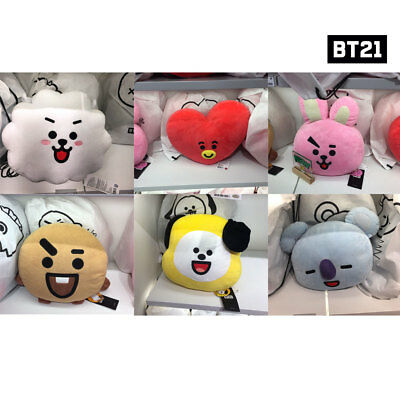 BTS BT21 Official Authentic Goods 11.8inch 30cm Cushion Smile Ver 8 characters