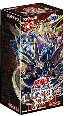 Yu-Gi-Oh Duel Monsters COLLECTORS PACK 2018 BOX Japan import F/S