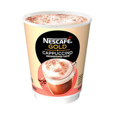 Nescafe & Go Cappuccino Foil-sealed Cup for Drinks Machine 12310642 Pack 8