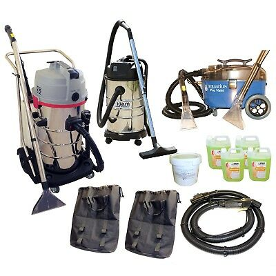 Carpet Upholstery Cleaning Equipment Business Pack Car Valet Spray Extraction