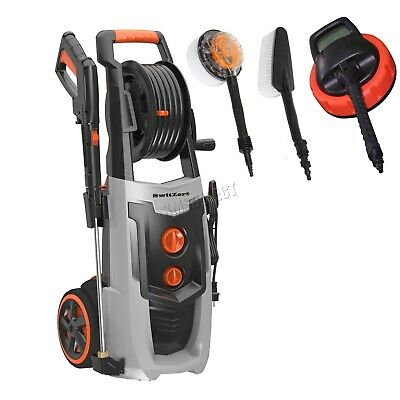 SwitZer Portable Electric Pressure Washer 2000W 2320PSI Power Jet Cleaner Kits