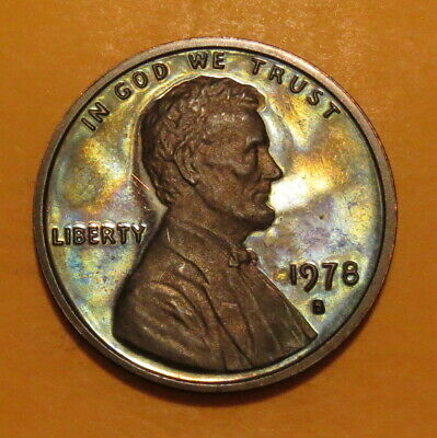 (((1978 S Copper Penny--Cameo Proof)))