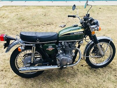 1974 Honda CB  74 Honda CB 450 Super Sport  K7  Beautiful Original Bike, Original Paint