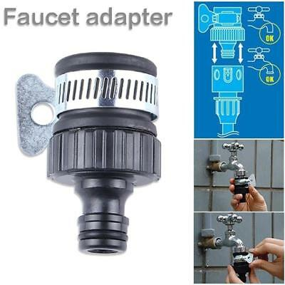 Universal Plastic Female Thread Faucet Adapter To Garden Hose Quick Connector