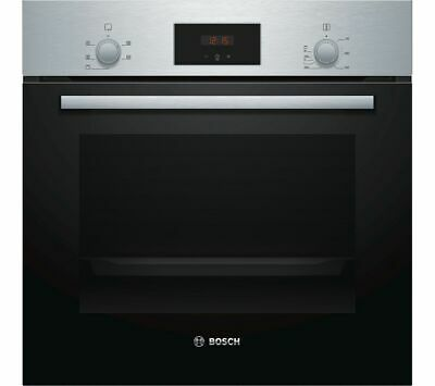 BOSCH HHF113BR0B Electric Oven - Stainless Steel - Currys