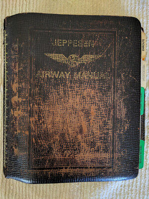 Vintage Jeppesen Piedmont Airlines Route Manual Volume 1