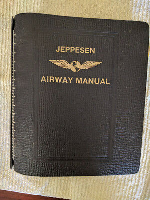 Vintage Jeppesen Airway (Piedmont Airlines) Route Manual Volume 3