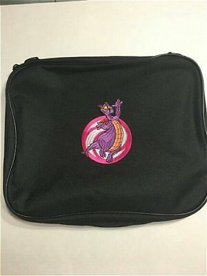 Epcot Character Figment Embroidery Pin Book Bag Disney Pin Trading Collection
