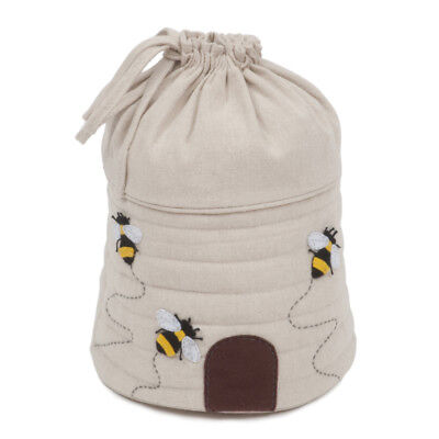 Bee Themed Hive Shaped Drawstring Storage Bag