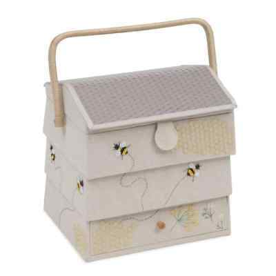 Bee Hive Styled Extra Large Sewing Storage Box
