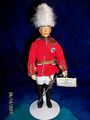 Rare Peggy Nisbet Doll #p/711 King Edward Viii 1894-1972 As Governor Of Bahamas