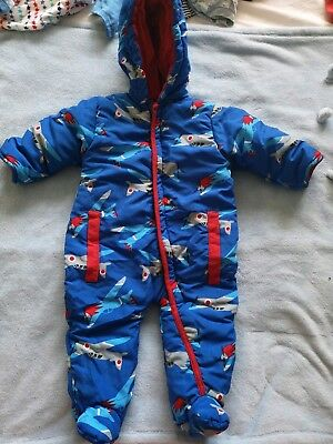 Baby Boys Warm Snow Suit New Without Tags 3-6 Months