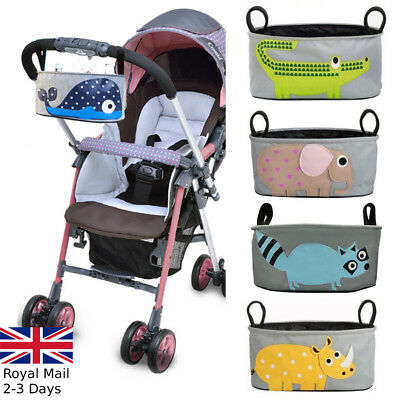 Pram Stroller Pushchair Accessories Buggy Cup Bottle Holder Organiser Mummy Bag