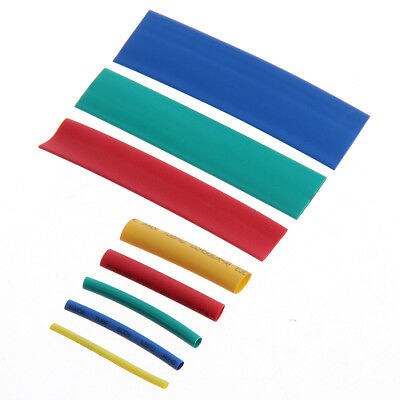 260pcs voiture assorties câble thermorétractable manches tube wrap manches #FR