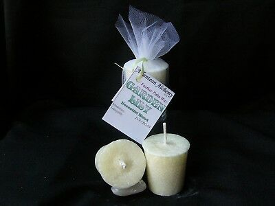 GARDEN LILY PALM Feather Votive Candles, Available in BULK size
