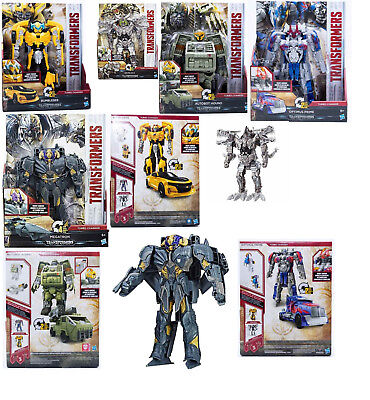 Hasbro Transformers 5 - Actionfigur Turbo Changers Bumblebee 5 Figuren zur Wahl