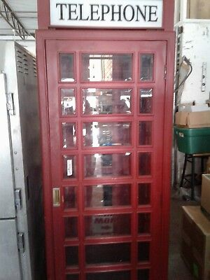 Antique (Vintage) Reproduction British Phone Booth