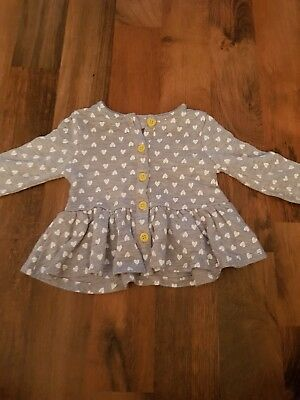 Girls Peplum Cardigan 9-12 Month's