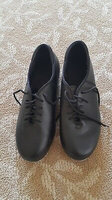 girls dance shoes Theatricals, tap shoes, black, good condition