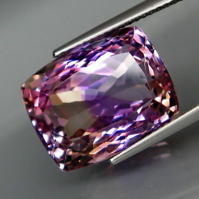 Gorgeous  17.13ct VVS Classic Cushion Cut Natural Ametrine Gemstone