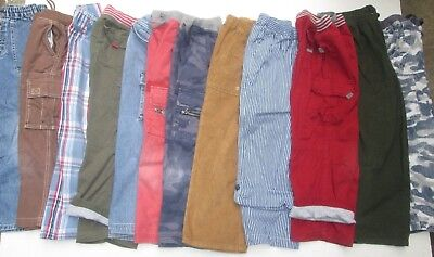 ❤ HANNA ANDERSSON boys pants size 120 jeans lined cargo cords plaid 6 FREESHIP