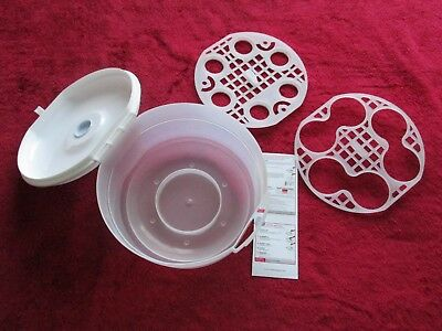 Tommee Tippee Essesntials Steriliser Microwave Steam and Cold Water Methods