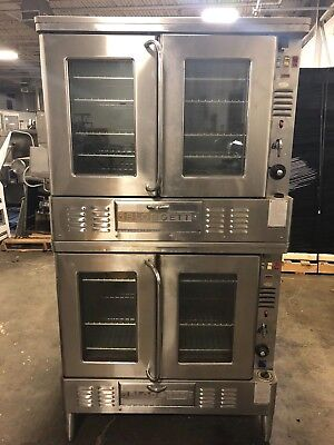 Blodgett GZL-10 Double Stack Natural Gas Convection Oven WORKS GREAT!