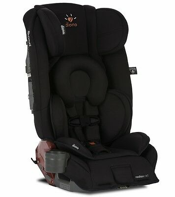 Diono 2018 Radian RXT Convertible Car Seat In Midnight NEW! (open box)