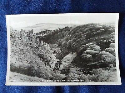 Vintage postcard Scotland The Berriedale Water Caithness A4246