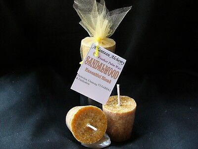 GARDEN LILY PALM Feather Votive Candles, Available in BULK