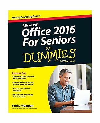Office 2016 for Seniors for Dummies (For Dummies (Computer/tech)) .