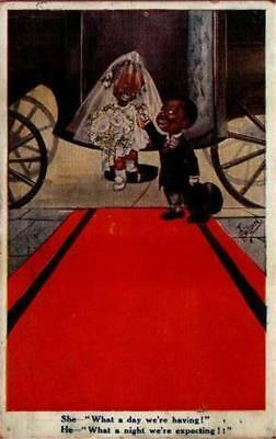 Artist Signed T Gilson Comic Black Children What A Night We're Expecting1918