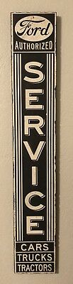 """Ford Authorized Sales Service Sign Wooden 41"""" Large Replica New"""