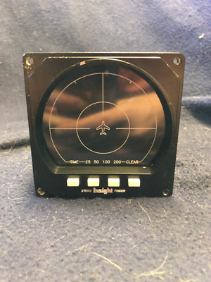 Insight Avionics Strike Finder SF2000 Display Overhauled with Brand New LED