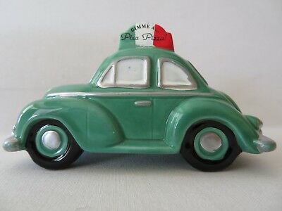 Dept 56 Snow Village Accessories Pizza Delivery Car #54866 Retired