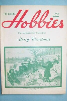 """December 1968 Issue of Hobbies Magazine """"The Magazine For Collectors"""""""