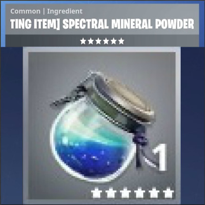 Fortnite 10 Spectral Erz (ULTRA SELTEN) Mineral Powder PS4/PC(Save the world)